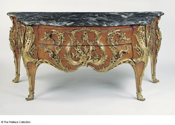 Wallace Coll Louis XV s commode Antoine-Robert Gaudreaus 1739 | The Frame  Blog