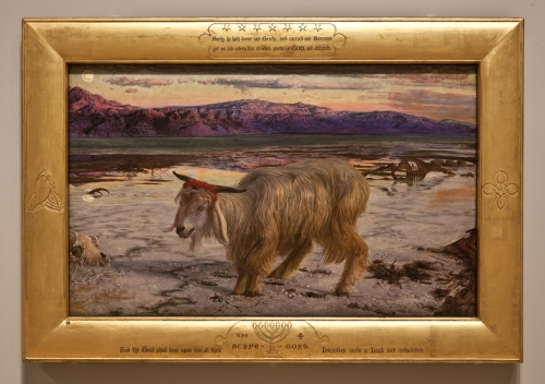 Holman Hunt Scapegoat Full view sm