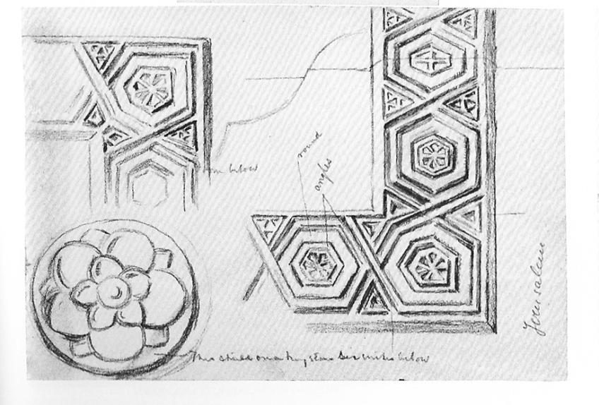 Holman Hunt Shadow of death study of motifs on frame | The Frame Blog