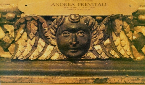 Andrea Previtali The Annunciation c1520to25 Memphis detail sm