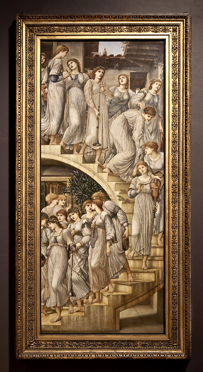 Burne Jones Golden Stairs Full view sm