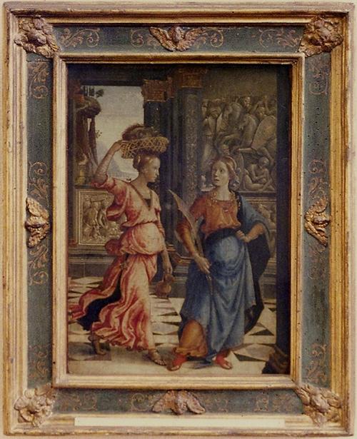 Domenico Ghirlandaio Judith & her maidservant 1489 Berlin sm