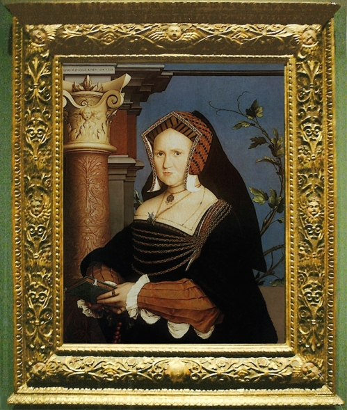Holbein the Ynger Mary Lady Guildford Whole pic sm