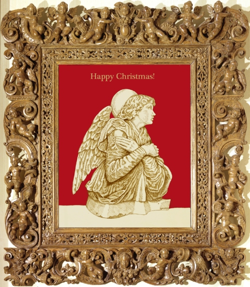 Mannerist frame  Sansovino Christmas cardl