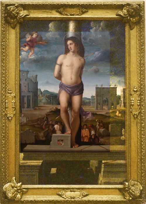 Venice or Northern Italy St Sebastian 1512-31Whole pic sm