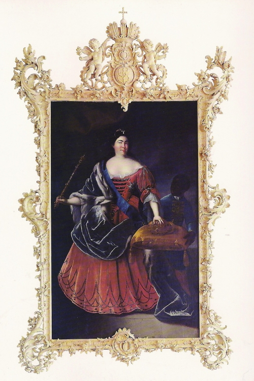 Cat p38 Portrait of Catherine the Great replica frame scan sm