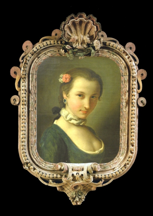 Cat p40to41  PA Rotari Pair Portraits of girl 1760s