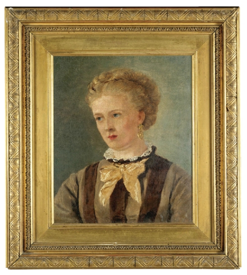 John Brett Portrait of Mary Brett sm