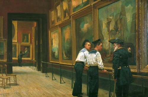 Edward Taylor Twas a famous victory 1883 Birmingham AG sm