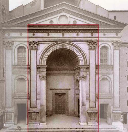 Leon Alberti Basilica of San Andrea Mantua