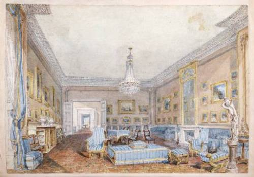Drawing Room of 45 Grosvenor Place 1819 by Joseph Mallord William Turner 1775-1851