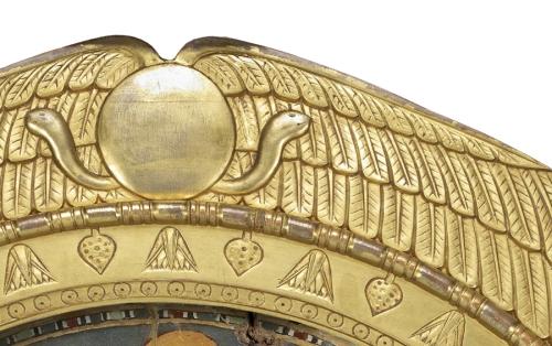 Egyptian frame Crest sm