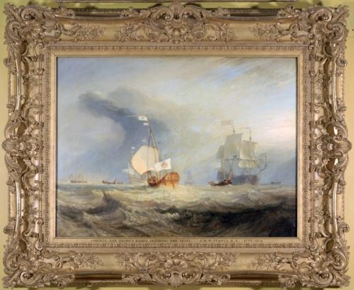 Turner Admiral van Tromp s Barge Soane Museum Soane sm