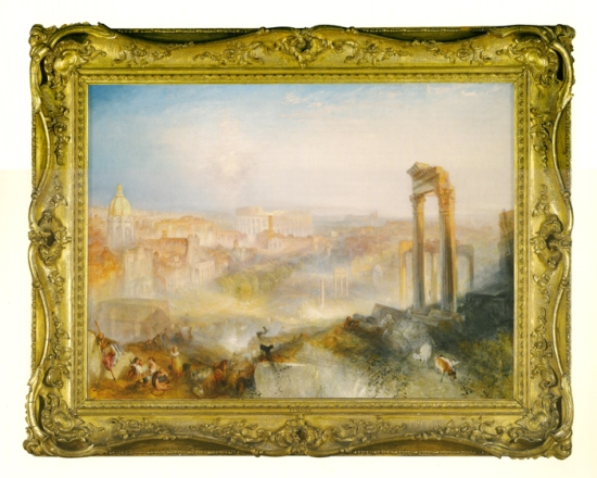 Turner Modern Rome Campo Vaccino 1839 J Paul Getty Museum Los Angeles sm