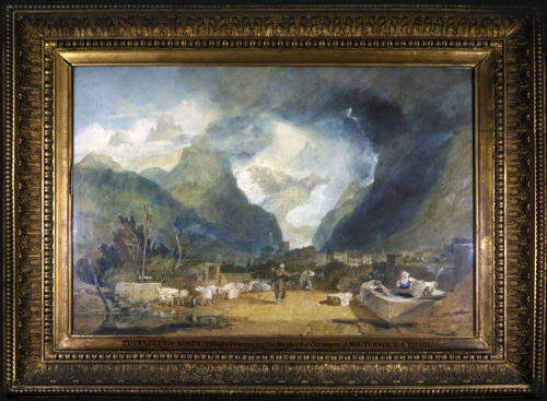 Turner The Valley of Cormayer RA 1803 Soane Museum sm