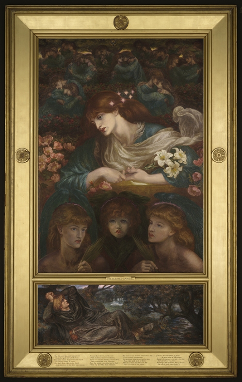 Rossetti The Blessed Damozel Fogg Art Museum Harvard