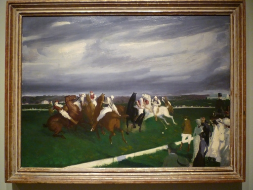 Polo at Lakewood--George Bellows