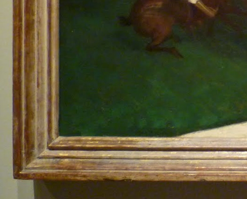 dating paintings frame