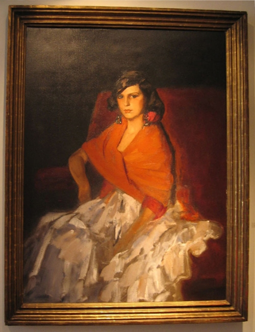 Robert Henri Dorita 1924 Leclair Collection