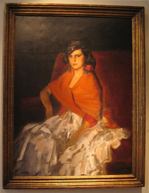 Robert Henri Dorita 1924 Leclair Collection
