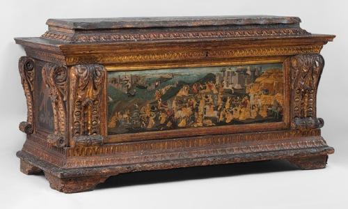 Cassone Marco del Buono Giamberti & Apollonio di Giovanni di Tomaso 1460s Met Mus