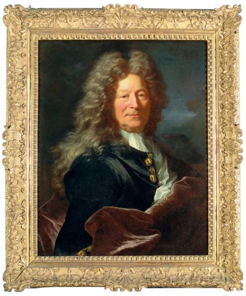 Hyacinthe Rigaud François Girardon Dijon Musée des BA