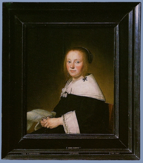 Johannes Verspronck Maria Hammius 1641 pair Mauritshuis The Hague