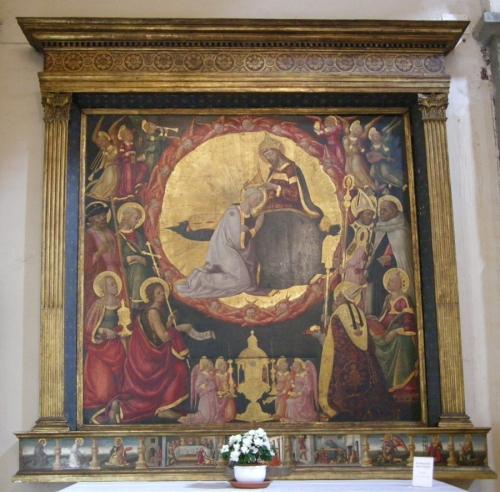 Neri di Bicci Incoronazione della Vergine San Giovannino dei Cavalieri Photo Sailko sm