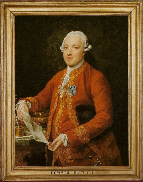 Pompeo Batoni Don Jose Monino y Redondo c1773 Art Inst Chicago