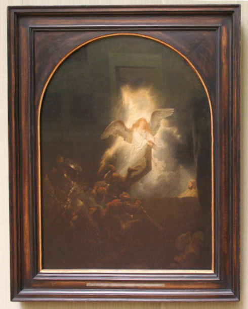 Rembrandt Resurrection of Christ 1 of 6 in Passion cycle 1639 Alte Pinakothek Munich