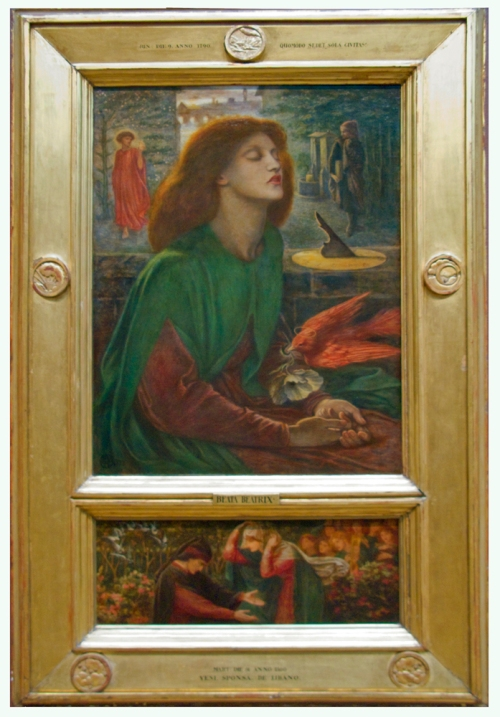 Rossetti Beata Beatrix 1871to72 Art Inst of Chicago sm