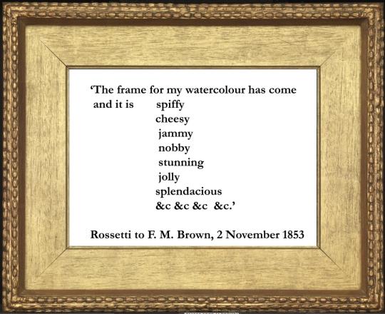 Rossetti quote