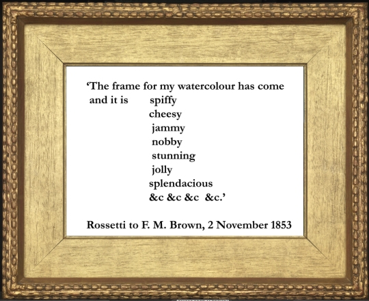 Rossetti quote