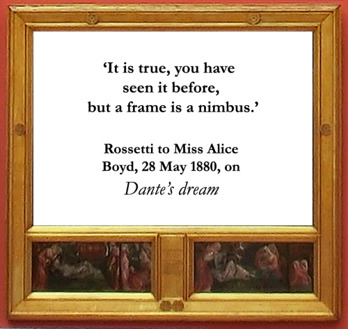 Rossetti Dante s dream quote