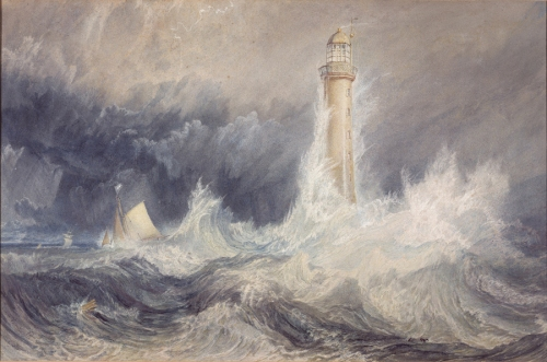 Turner The Bell Rock Lighthouse 1819 NGS sm