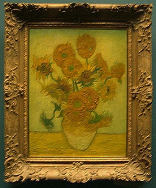 Fifteen sunflowers 1888to89 Seiji Togo Memorial Photo Buny Chan 2004