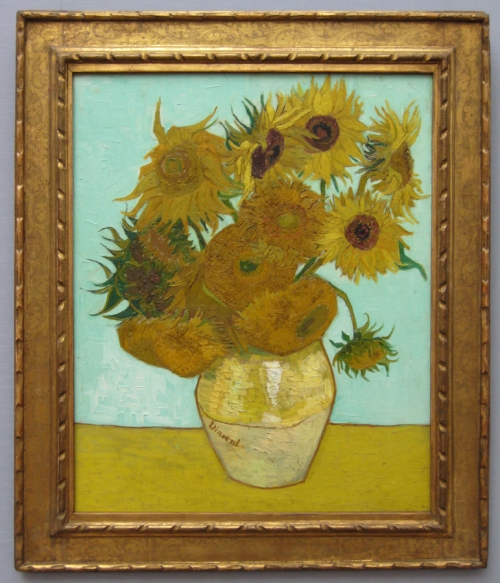 Fourteen Sunflowers 1888 Neue Pinakothek PhBSt sm