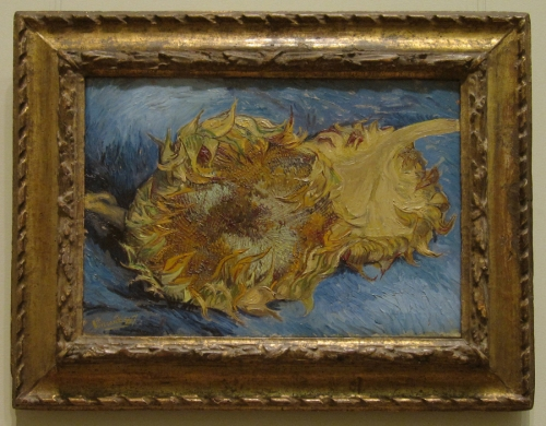 Two cut sunflowers 1887 Met Museum PhAT sm