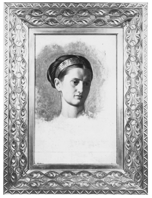 Holman Hunt Portrait of Miss Waugh sm
