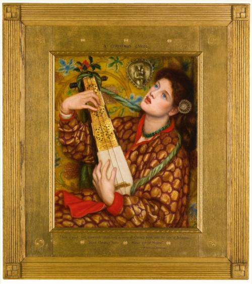Rossetti Christmas Carol Framed pic sm