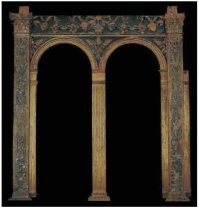 1 Detail of frame pre restoration