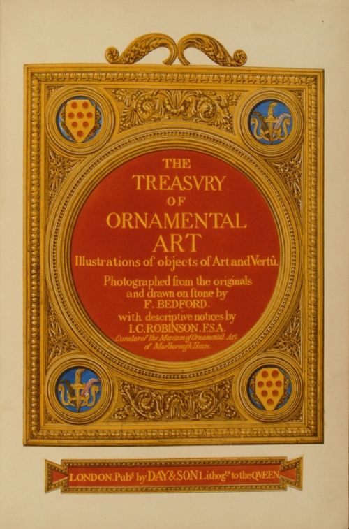 Charles Robinson The Treasury of Ornamental Art Title page sm