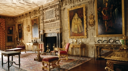 The ballroon at Knole