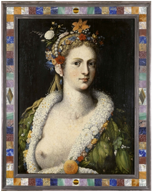 Arcimboldo Flora meretrix c1590 Private collection