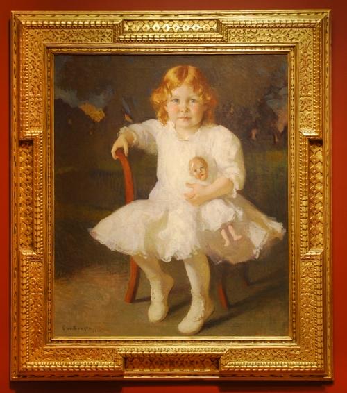 Frank W Benson Mary Spencer Fuller 1914 Currier Museum of Art sm