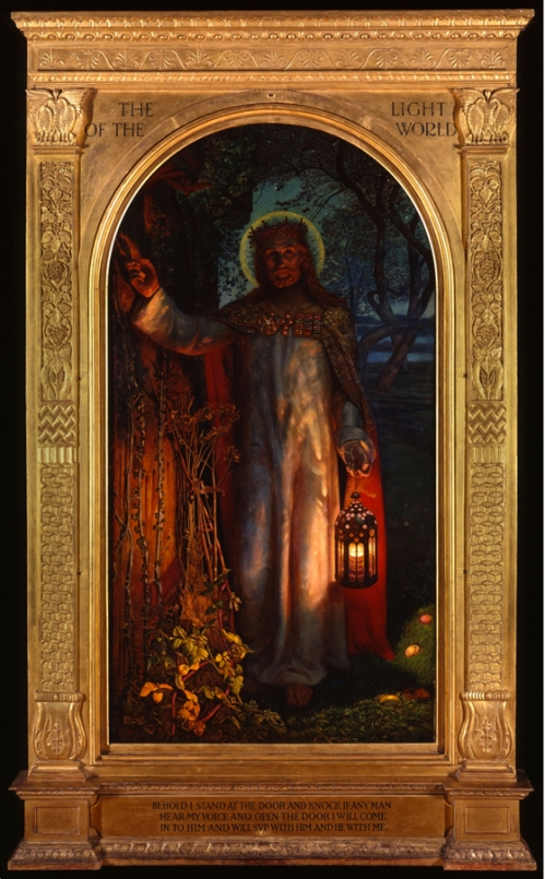 Holman Hunt The Light of the World St Paul s Cathedral sm