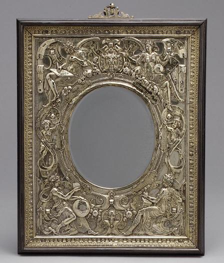 Wenzel Jamnitzer Looking glass frame c1568 Met Mus NY