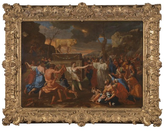 Poussin Golden Calf N-5597