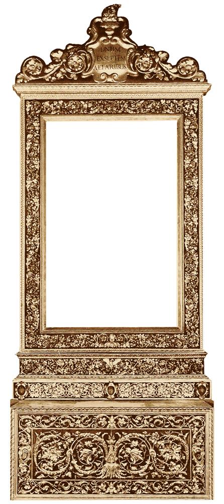 Raphael St Cecelia original frame S Giovanni in Monte Bologna sm
