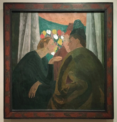 Vanessa Bell A Conversation 1913-16 Courtauld Institute of Art